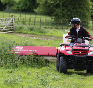 stocking a range of weed wipers options for your atv, from wessex, logic  and quad-x
